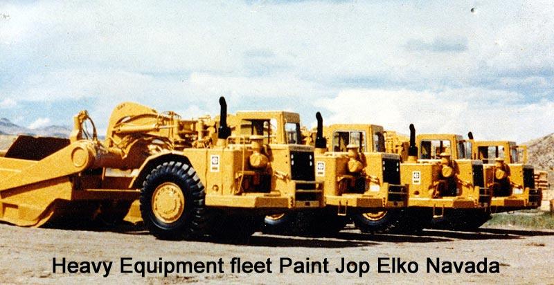 Heavy Equipment Painting : Eastern washington body work antique cars trucks