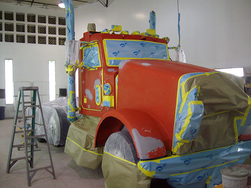 Semi-Truck Repair Wenatchee, Semi-Truck Painting