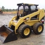 Sandblasting-Skid-Steer-Loaders-Cat-150x150