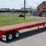 sandbasting-semi-trailer-flatbed